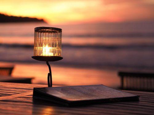 Svíčka na pláži