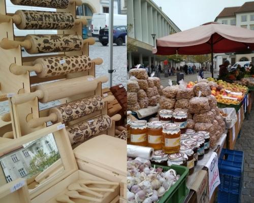 Farmářský trh dřevo