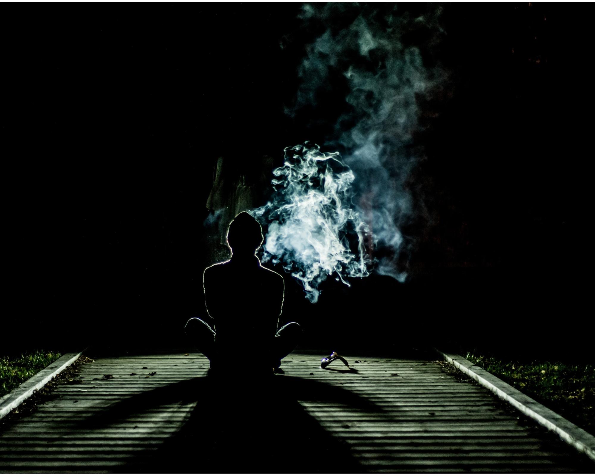 Divadlo kouř